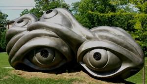 Eye Wear Sculpture