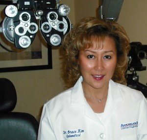Optometrist Grace Kim