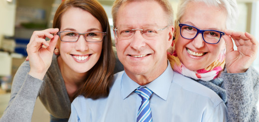 Group wearing glasses