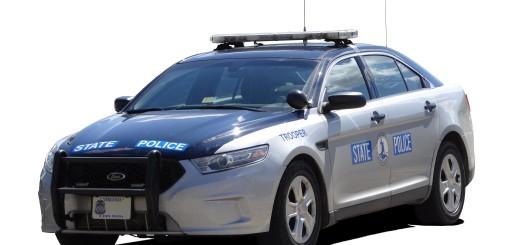 POLICE CAR-VA STATE TROOPER