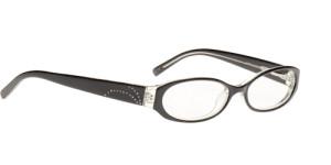 Cosmopolitan Dazzle Eyeglasses in Onyx