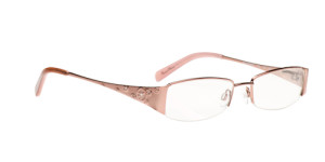 coral glasses from daisy fuentes