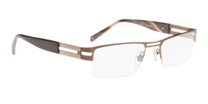 Men's Brown Eyeglasses