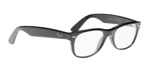 Shiny Black Ray Ban Glasses for Men