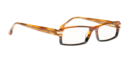 Black and Amber Men's Eyeglasses from Sean John