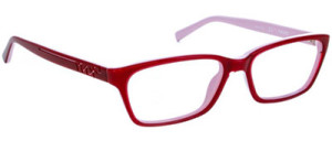 Image result for red eyeglasses for women