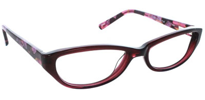 Sofia Vergara Sandra Eyeglasses in Plum