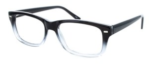 mens black eyeglasses from artistic values