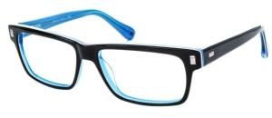 Blue and Black Eyeglasses for Men from Randy Jackson