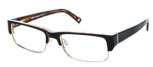 Randy Jackson Black and Tortoise Glasses for Men