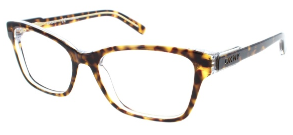 on the right person this frame is dynamic its a beautiful lighter shade of tortoise and it would look fantastic on a face that can pull off this - Dkny Eyeglass Frames