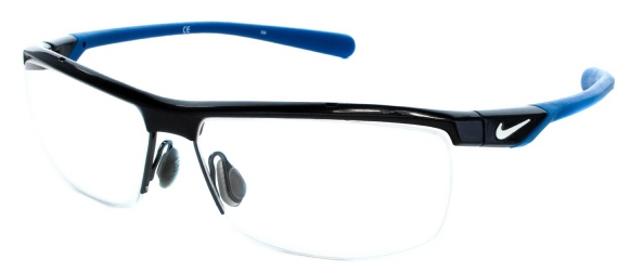 nike 8063 is a classic metal frame and would make a great pair of eyeglasses for the busy executive to wear from the big meeting right out to the golf