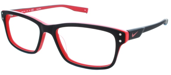 3993ae14ff70 Look at this semi-rimless athletic frame  Nike 70751. The curved lenses  will help keep debris or glare from sneaking in the sides.