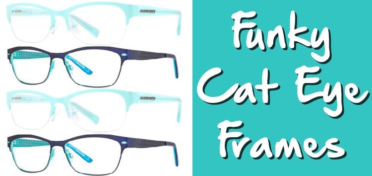 Funky Cat Eye Frames from America\'s Best