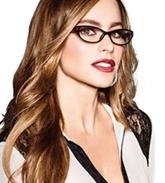 Sofia Vergara wearing her glasses