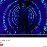 Optical Illusion Tunnel