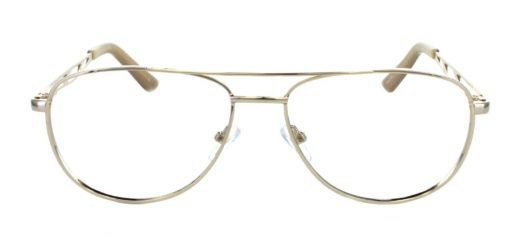 1970s style metal frames with large lenses