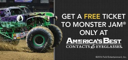 Get a free ticket to Monster Jam