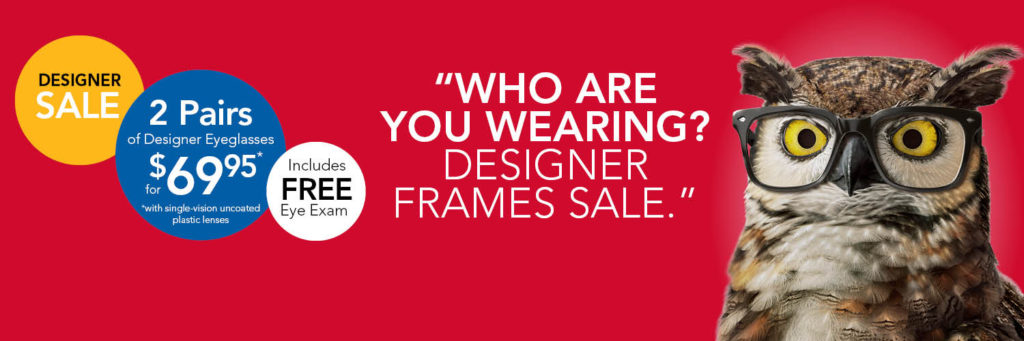 Designer Sale at America's Best