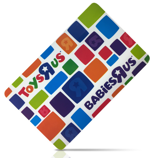 Toys R Us giftcard prize