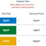 Mix and Match pricing for Labor Day savings year round