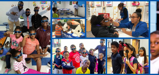 Vision screenings provided by America's Best at BGCA locations across the US