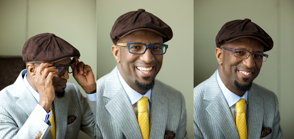2b2c35fd3e Rickey Smiley Frames  Seriously Stylish Looks from a Radio Funny Guy - My  Best Eyeglasses