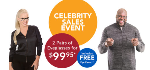 0e6fac30a9c Celebrity Sales Event  Shaq   Jenny McCarthy Frames 2 for  99.95